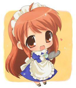 Mikuru Asahina chibi maid