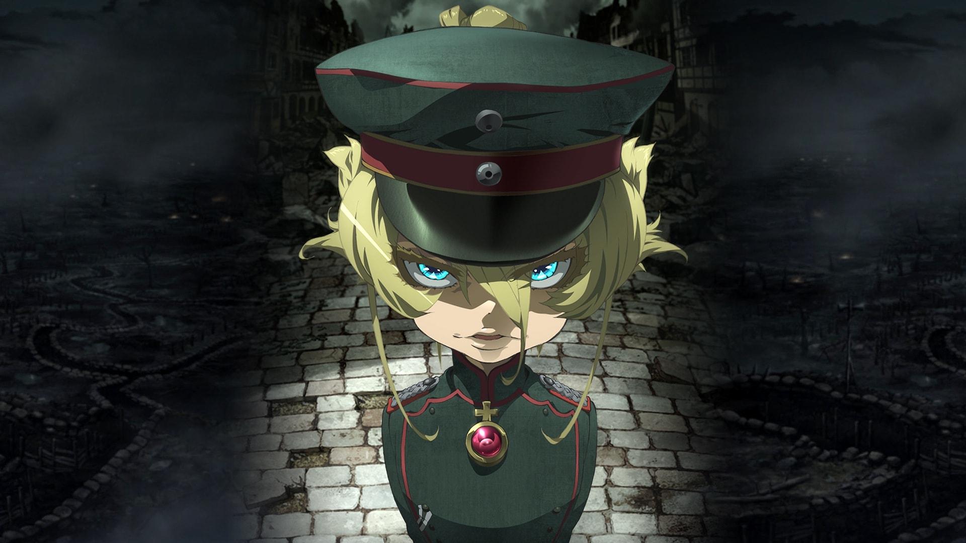 Versión anime de Tanya von Degurechaff.