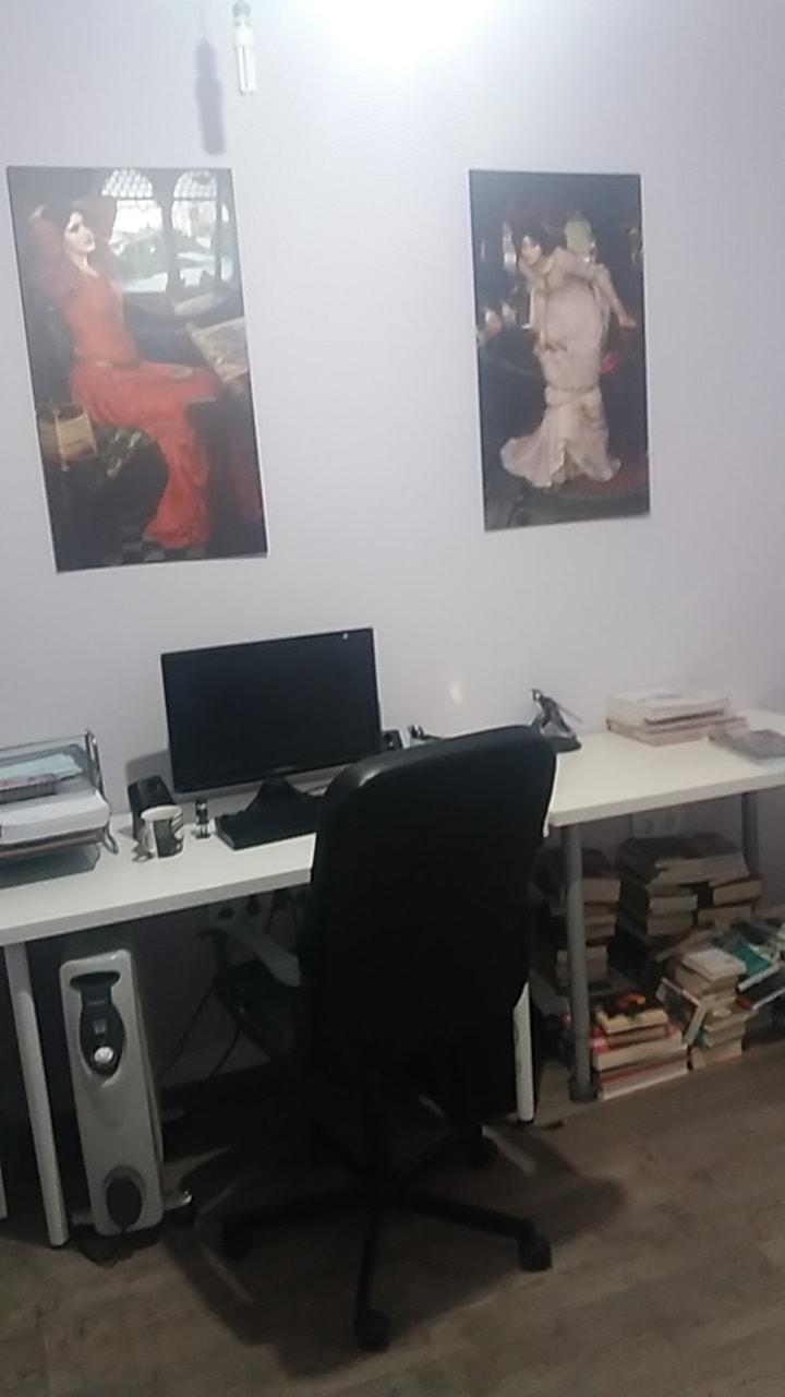 El lugar de trabajo de Maite Madinabeitia