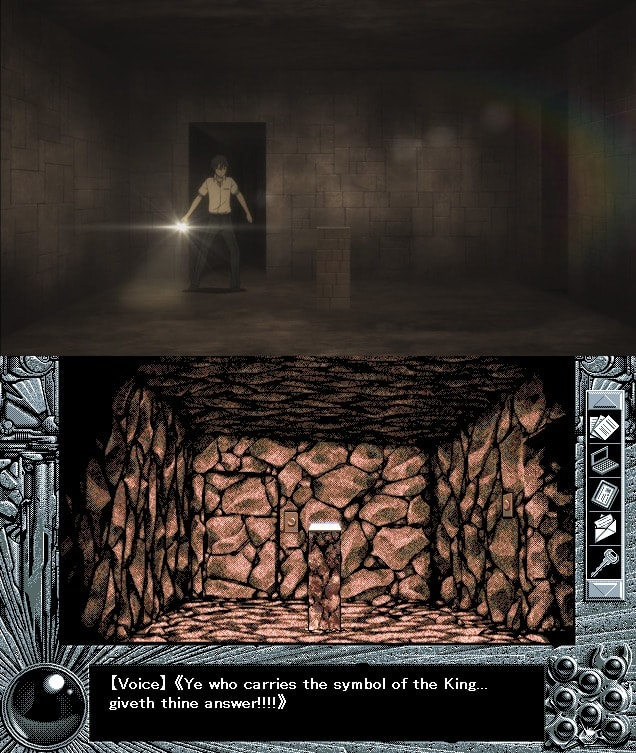 Burial chambers cámara funeraria YU-NO episodio 17