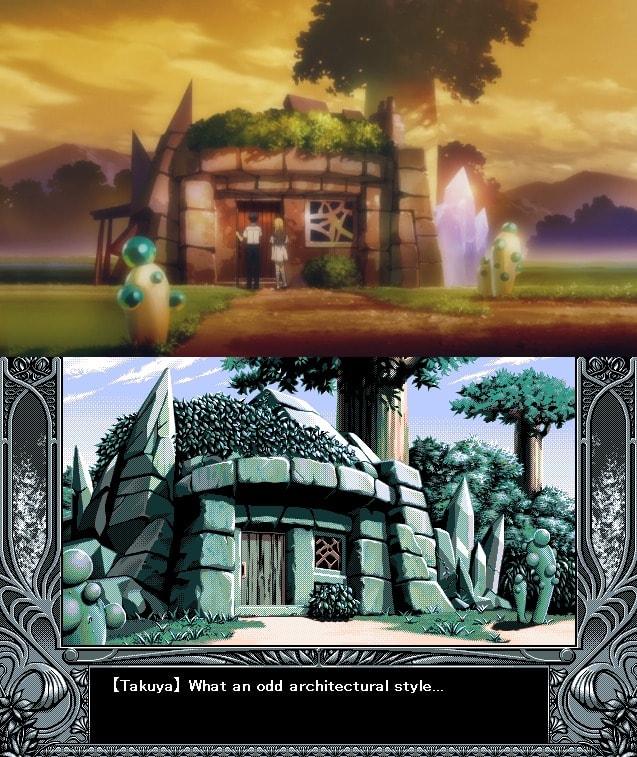 Casa de piedra epílogo YU-NO