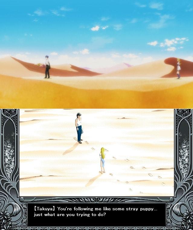 Takuya y Sayless desierto