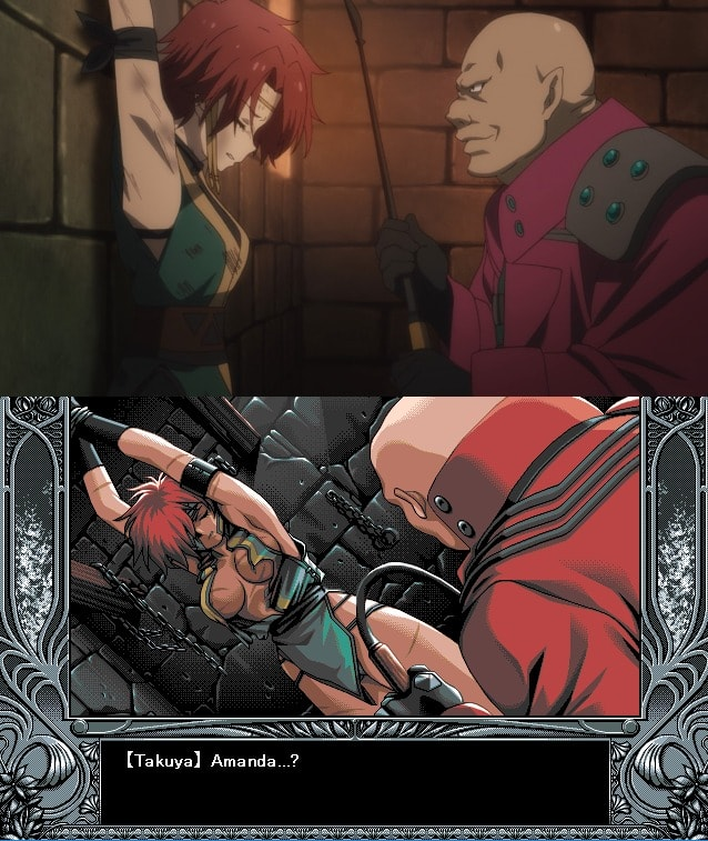 Amanda Yu-No Anime visual novel