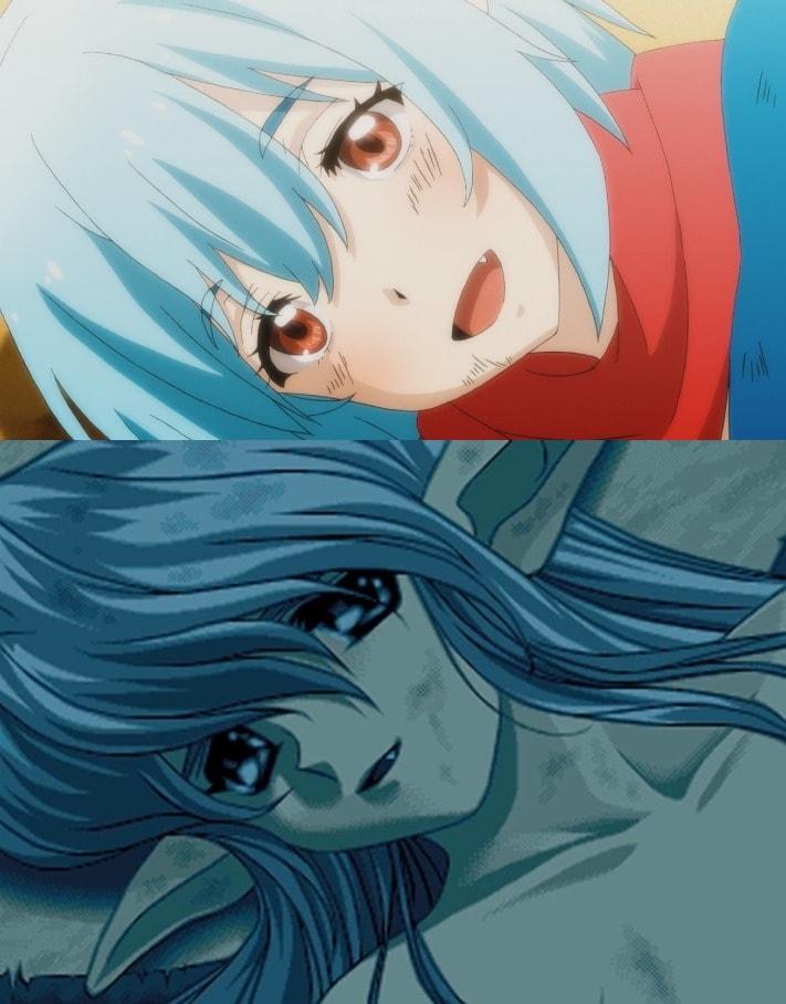 Comparación anime visual novel Kun-kun adulta YU-NO