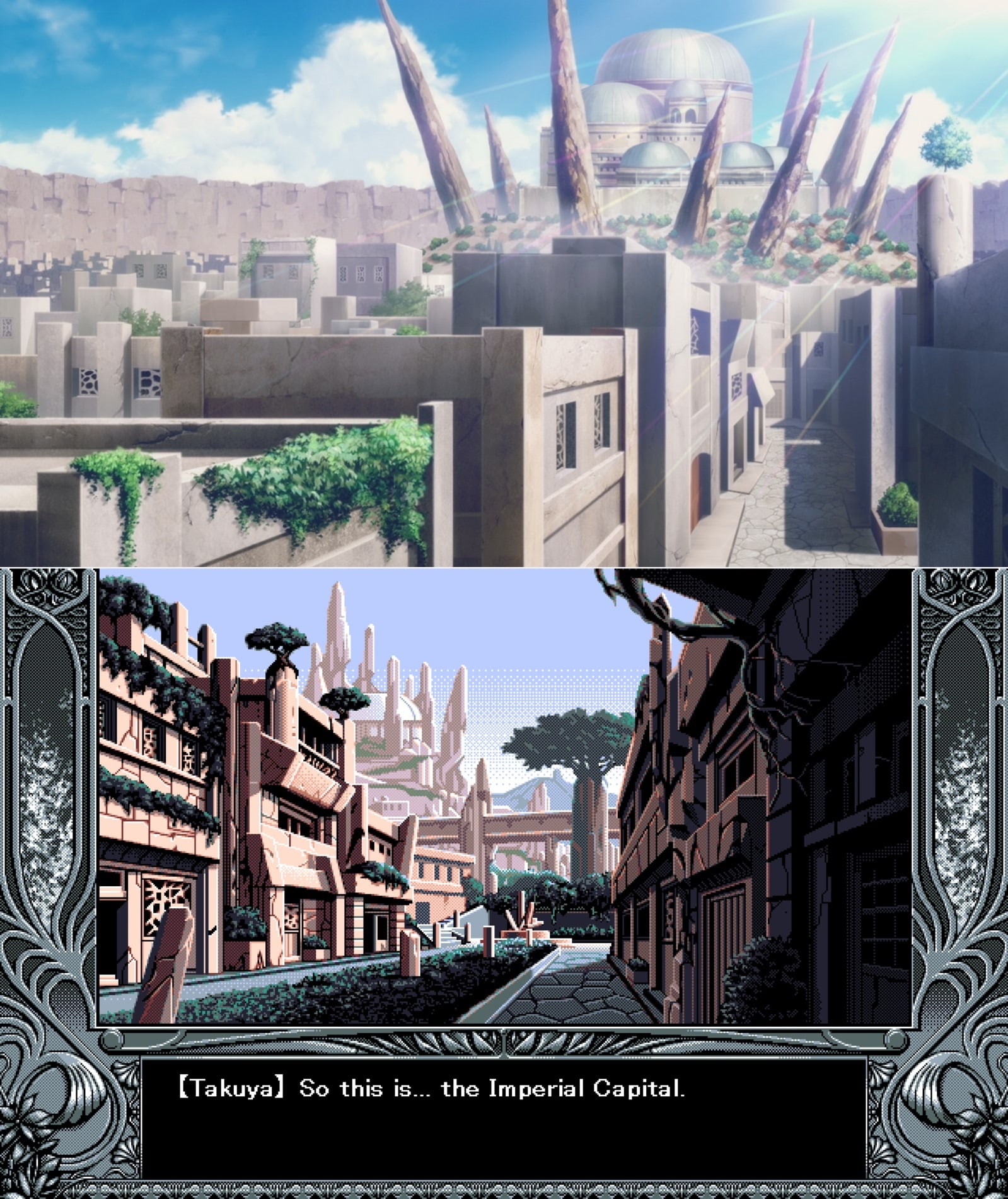 La Capital Imperial isekai YU-NO