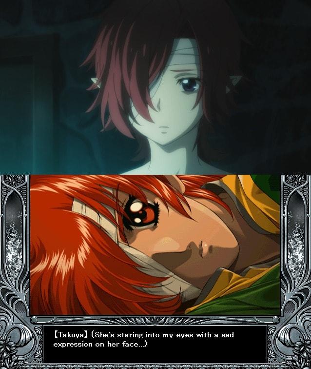 Amanda triste Yu-No
