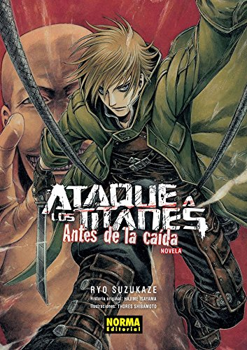 Comprar novela Ataque a los Titanes: Antes de la Caída