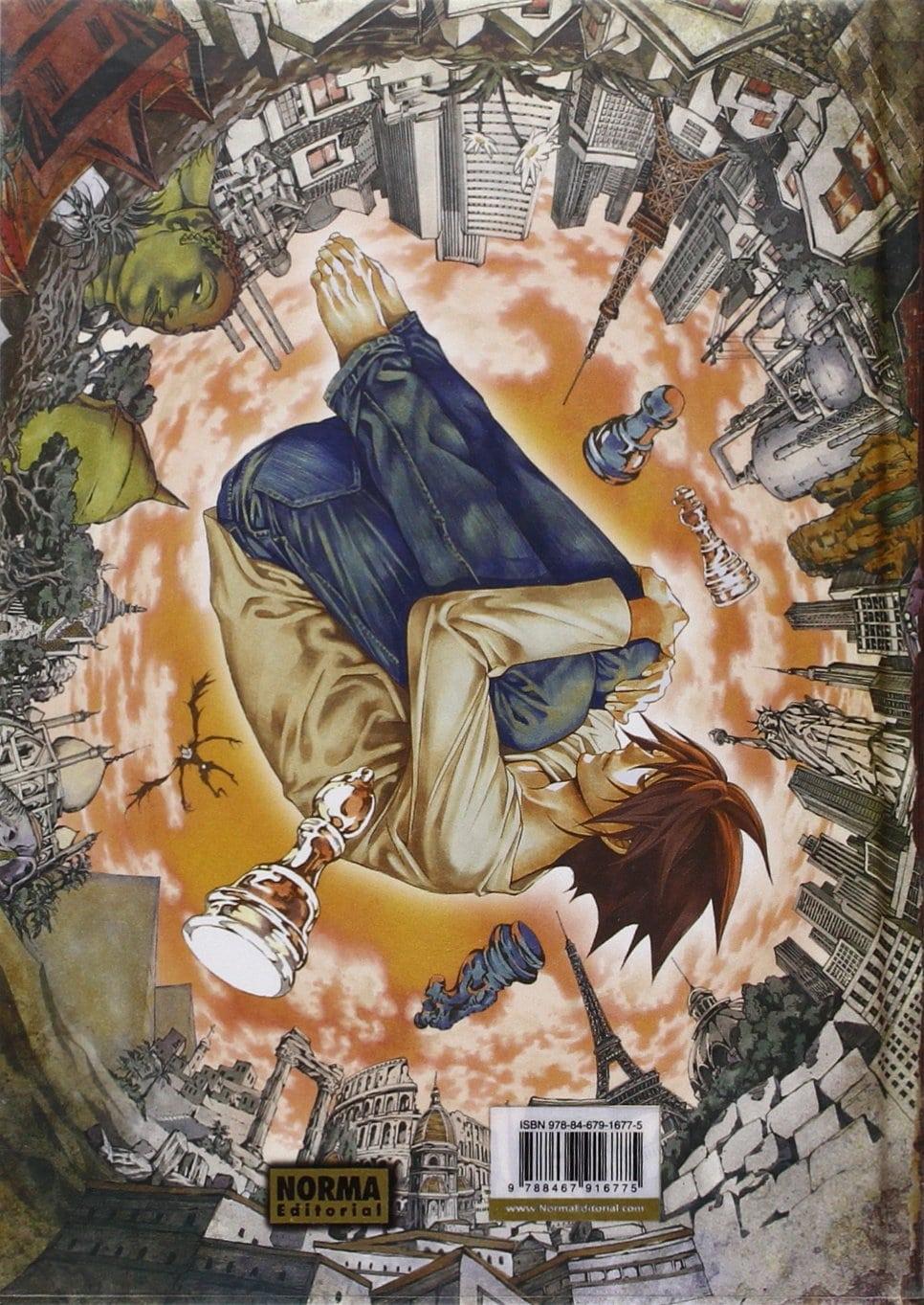 Contraportada Death Note: L Change the World