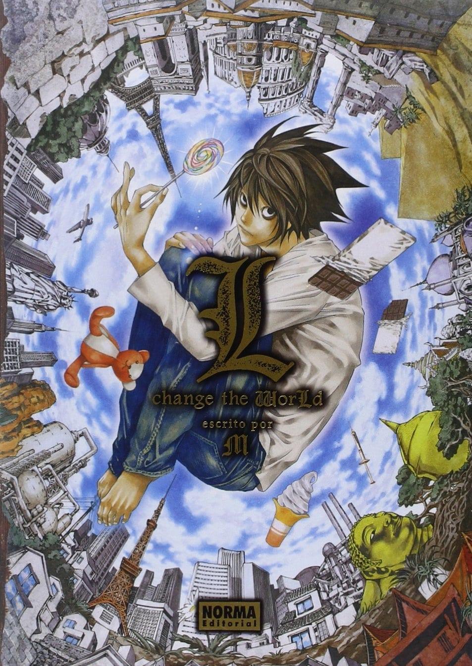 Todo sobre la novela ligera Death Note: L Change the World ✅ Encuentra dónde comprarla en español ⭐ La segunda light novel más vendida en Japón en 2008