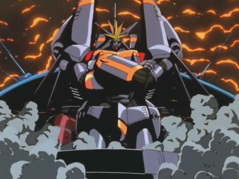 Gainax pose Gunbuster mecha