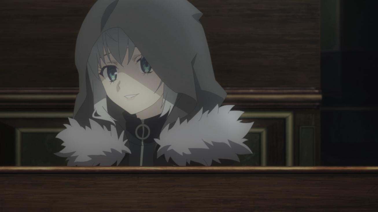 Gray mirando a Lord El-Melloi II Waver
