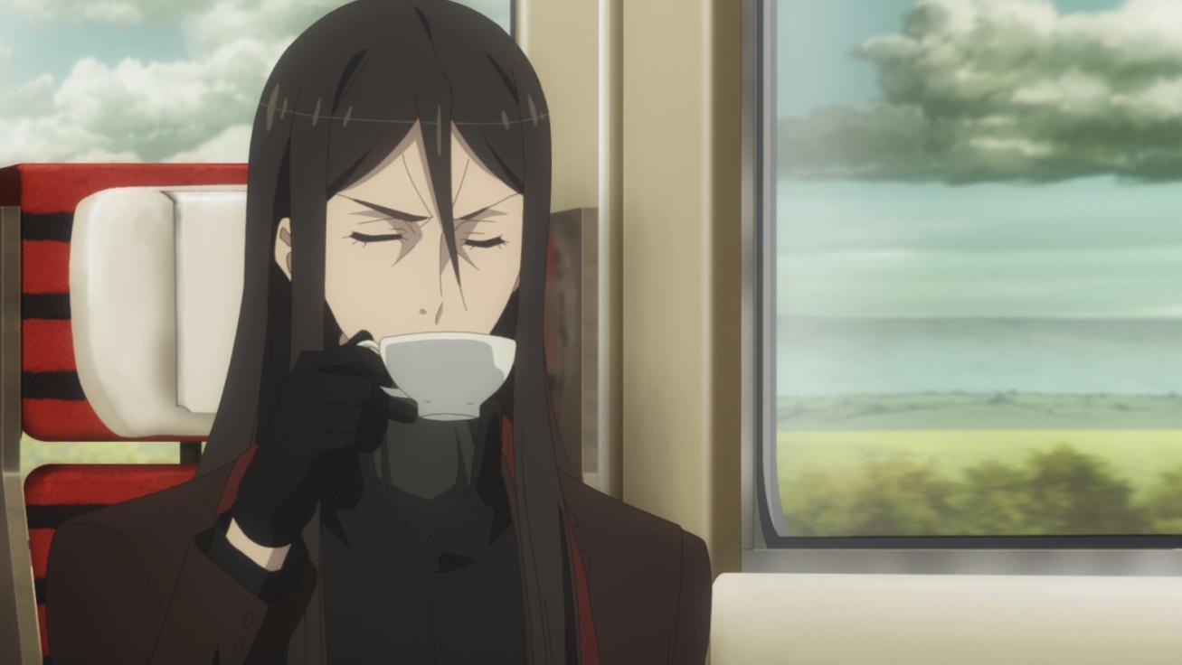 Lord El-Melloi II-sei no Jikenbo: Rail Zeppelin Grace Note: opinión anime Waver bebiendo té