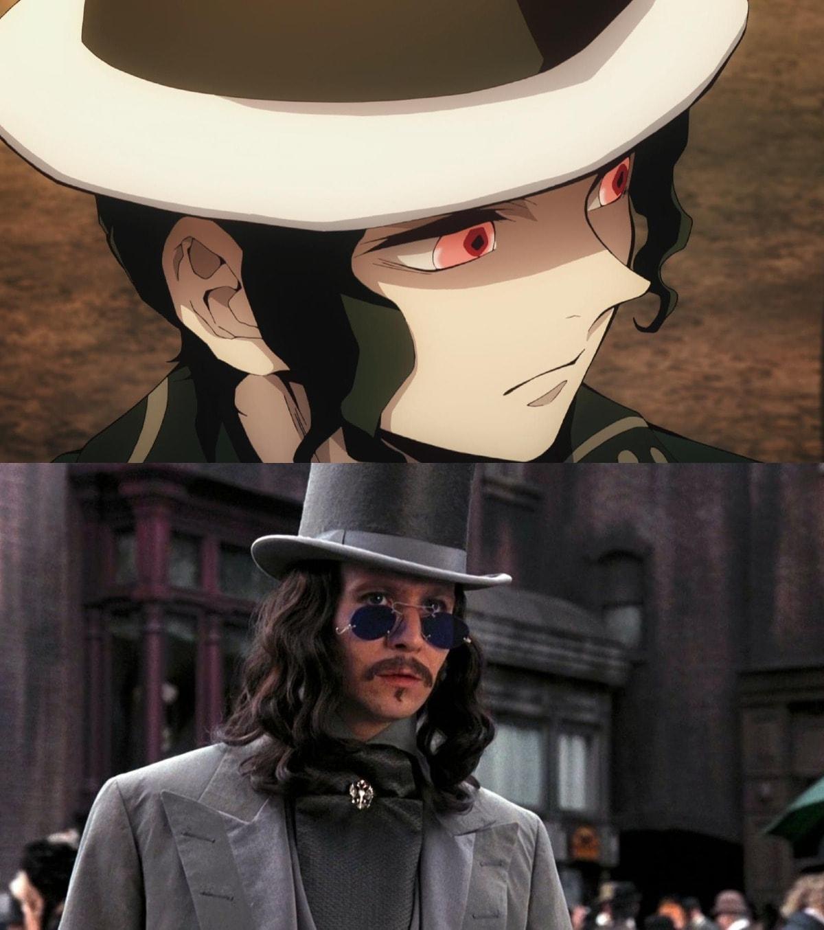 Comparación entre Drácula y Kimetsu no Yaiba