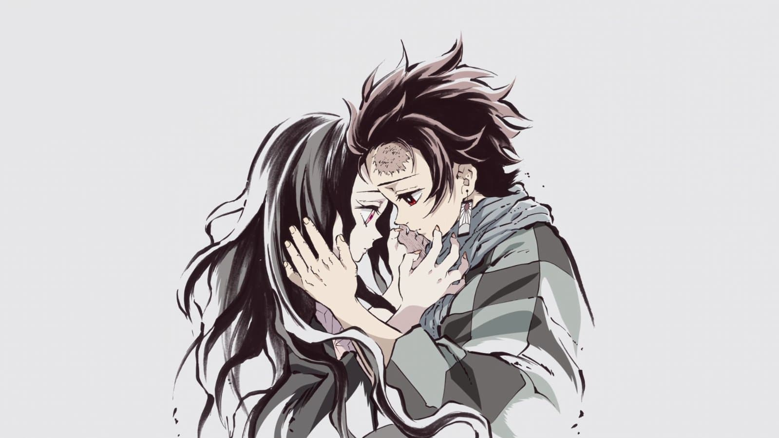 Nezuko y Tanjiro