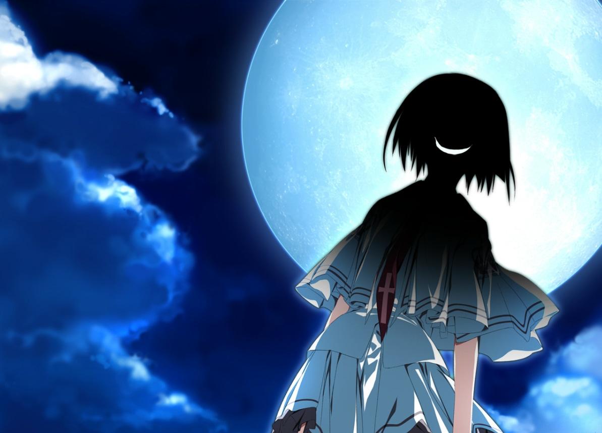 Escena creepy Subarashiki Hibi Ayana Otonashi