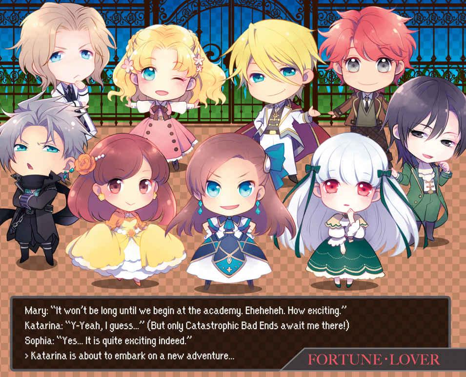 Ilustración del volumen 2 de Otome Game no Hametsu Flag