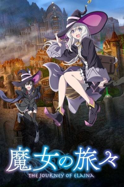 Majo no Tabitabi Estrenos anime otoño 2020 The Journey of Elaina