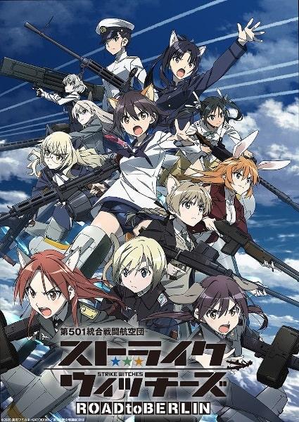 Strikes Witches Road to Berlin ¿qué ver esta temporada de anime?