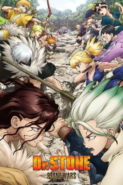 Dr Stone: Stone Wars Segunda temporada estrenos anime invierno 2021