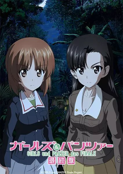 Girls & Panzer Saishuushou Part 3 Tercera película Garupan los mejores estrenos de anime invierno 2021