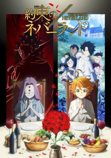 Yakusoku no Neverland 2nd Season The Promised Neverland 2nd Season Todos los mejores estrenos anime invierno 2021