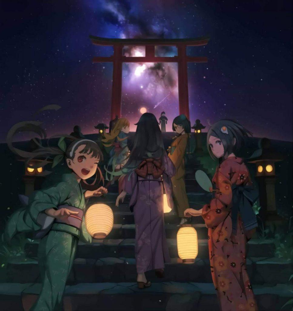 """El camino para aprender japonés se hace más ameno si te acompañan unas cuantas """"waifus""""."""